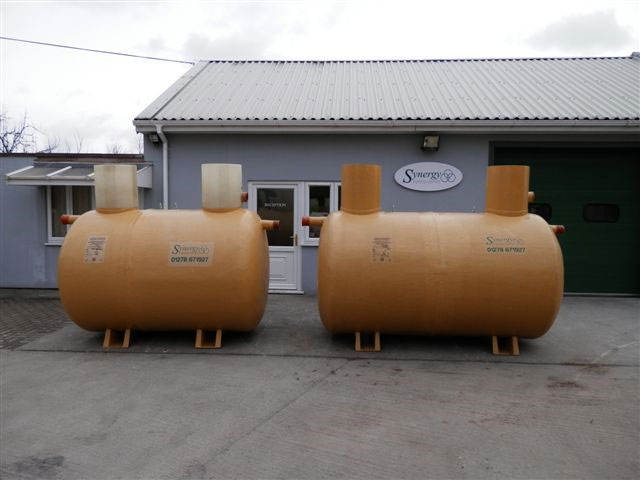 Low Profile Septic Tanks